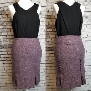 Retro Moda Pencil Skirt